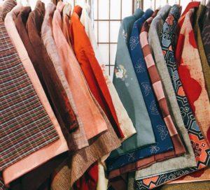 着物レンタル京都愛和服のアンティーク着物