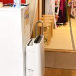 加湿器付き空気清浄機を置いています