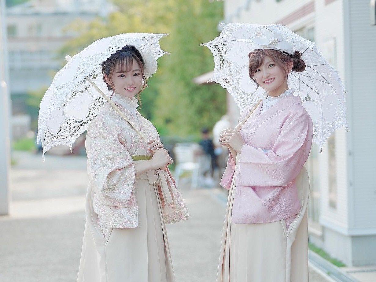 大正浪漫ガーリーコーデ袴
